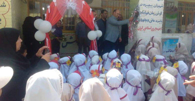 تصویر از زنگ هفته گردشگری در مدارس مینو شهرنواخته شد