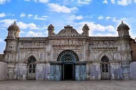 تصویر از طرح حفاظت و مرمت مسجد رنگونی های آبادان در مرحله نهایی شدن قرار گرفت